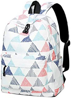 Lightweight Fashion School Backpack for Boys and Girls Women Backpack