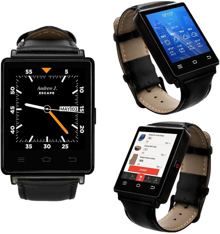 Indigi Sleek Android 5.13G Entsperrtes AT & T Tmobile geeignet Smartwatch Phone + WiFi + GPS + Herzfrequenz