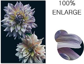 Lienzo Pintura Flores Arte de la pared Carteles e impresiones Textura Floral Imagen para la Sala Decoración de la pared 40x50cm