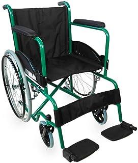 Mobiclinic, modelo Alcazaba, Silla de ruedas para minusválidos, premium, manual, plegable, ortopédica, freno en manetas, r...