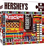 MasterPieces Hershey's Jigsaw Puzzle, Matrix, Chocolate Collage, 1000 Pieces