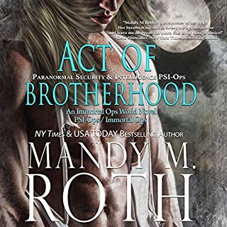 Act of Brotherhood audiobook cover art