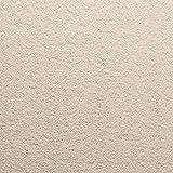 Handmuster zu Teppichfliesen selbstliegend Velours Schatex Simply Soft'2701 Crème' (20 Fliesen = 5...