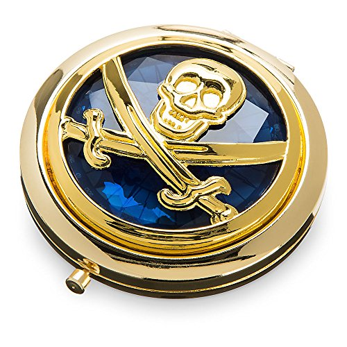 Disney Pirates of The Caribbean: Dead Men Tell No Tales Glass Compact Mirror