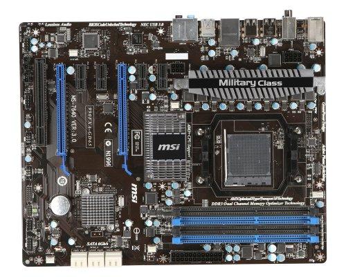 MSI 990FXA-GD65 Mainboard Sockel AMD AM3+ 990FX DDR3 Speicher ATX