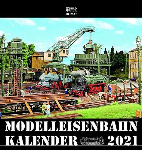 Modelleisenbahnkalender 2021: 61 Jahre Modelleisenbahnkalender