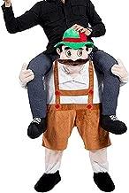 Halloween Carry Mascot Me Guy Ride On Beer Oktoberfest Costume Ride on Costume