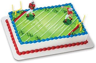 Football Fever Cake Snack Plates Birthday party