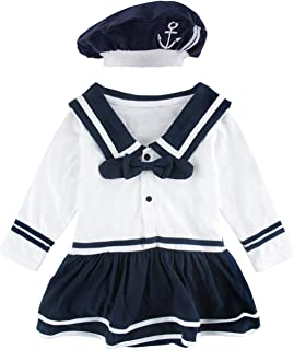 baby sailor outfit girl