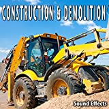 Downtown Road Construction Ambience with Heavy Traffic, Voices, Machinery, Police Traffic Whistle and Heavy City Background