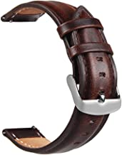 TOROTOP Compatible with Gear S3 Bands/Galaxy Watch 46mm Bands,22MM Leather Strap Replacement Sport Band/Strap for Samsung Gear S3 Frontier/S3 Classic Smart Watch/Galaxy Watch 46mm