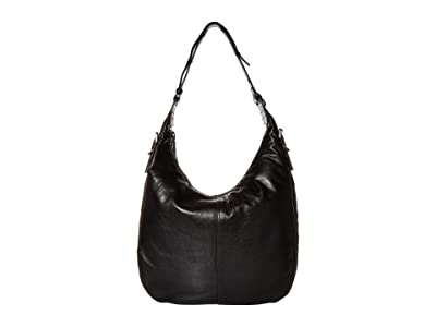 Frye Gia Hobo (Black) Handbags