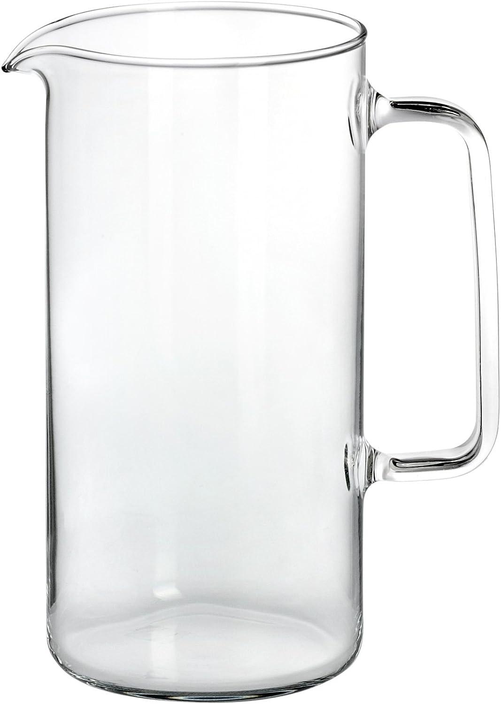 Bohemia Cristal Jarra Cylinder con Capacidad para 1 litro