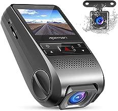 APEMAN Dash Cam Car DVR Dashboard FHD 1080P 170 Wide Angle Dual Dash Camera with G-Sensor, WDR, Loop Recording, 6G Lens, Motion Detection etc