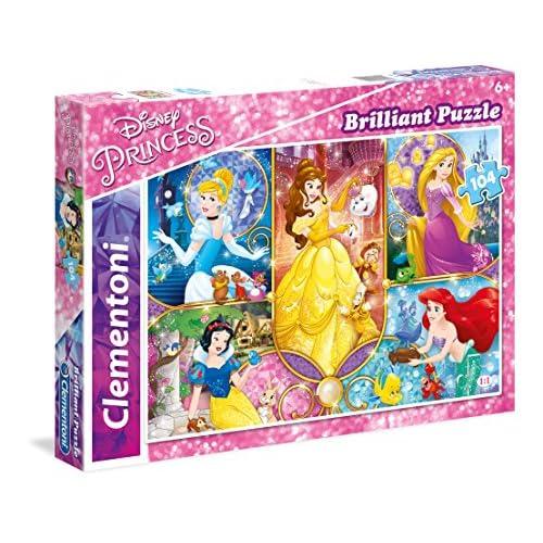 Clementoni 20140 - Puzzle 104 Brilliant Princess