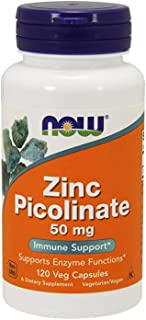 Now Foods Zinc Picolinate Veggie Capsules