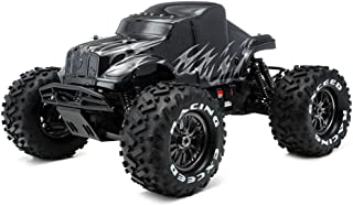 Exceed RC 1/8Th EP Mad Beast Monster Truck Racing Edition Ready to Run w/ 540L Brushless Motor/ ESC/ Lipo Battery (Black/Silver) Charger NOT Included