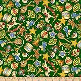 Quilting Treasures Fat Quarter Weihnachts-O-Tannenbaum
