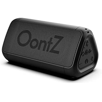 OontZ Angle 3 Shower – Plus Edition with Alexa, Waterproof Bluetooth Speaker, 10 Watts Power, Loud Crystal Clear Sound, Rich Bass, 100ft Wireless Range, The Perfect Shower Speaker