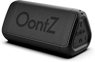 Cambridge SoundWorks OontZ Angle 3 Shower – PLUS Edition with Alexa, Waterproof Bluetooth Speaker, 10 Watts Power, Loud Crystal Clear Sound, Rich Bass, 100ft Wireless Range, The Perfect Shower Speaker