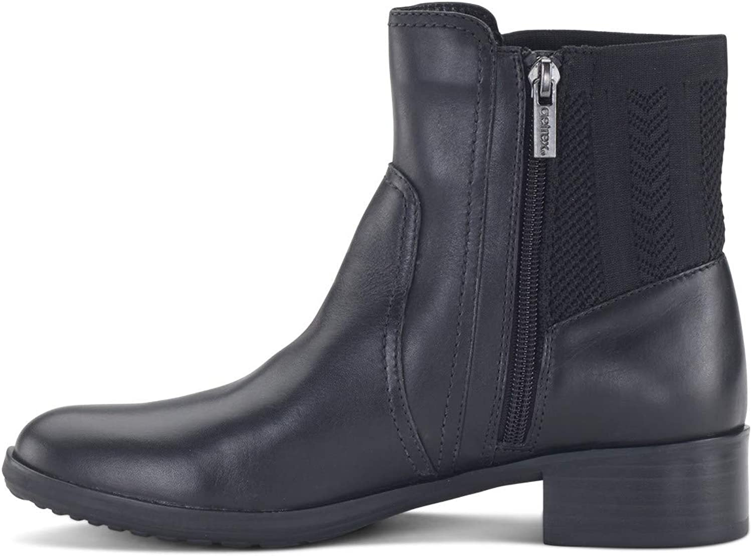 Aetrex Womens Kaitlyn Leather Round Toe Ankle Fashion Boots