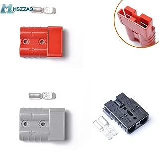 Black 1 pcs red 1 pcs Gray 1 pcs 50Amp Quick Connerctor Plug 12v Battery Plug for Dual Battery Systems, Caravans, 4WD, Fridges,RV etc.