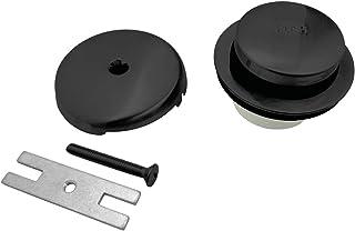 Kingston Brass DTT5302A0 Trimscape Easy Touch Toe-Tap Drain Conversion Kit Matte Black
