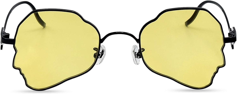 BEDO Vintage Lightweight Sunglasses for Women Fashion Metal Frame Face Shape Glasses UV 400 Predection