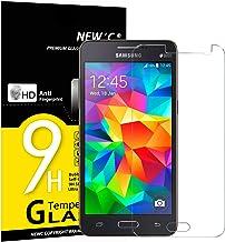 NEW'C 3 Unidades, Protector de Pantalla para Samsung Galaxy Grand Prime, Vidrio Cristal Templado