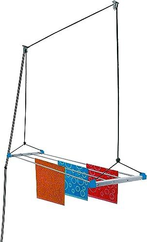 Plantex High Grade Cloth Drying Rack Ceiling Cloth Rack Cloth Stands for Drying Clothes 6 feet 4 Pipe
