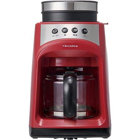 レコルト グラインドアンドドリップコーヒーメーカー フィーカ [ レッド / RGD-1 ] recolte Grind & Drip Coffee Maker FIKA