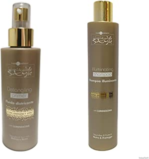 Hair Company • Inimitable Style KIT con REGALO • Detangling Primer 150ml • Illuminating Shampoo 250ml