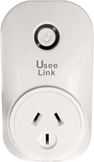Useelink WiFi Smart Plug, Remote Control from Anywhere, with Timing Function, Compatible with Amazon Alexa Echo and Google...