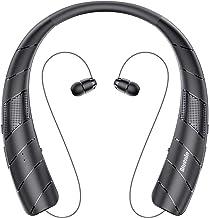 Bluenin BlueWave Pro 1 Bluetooth Headphones Speaker 2 in 1,Wireless Headphones Neckband Wearable Speaker Retractable Earbu...