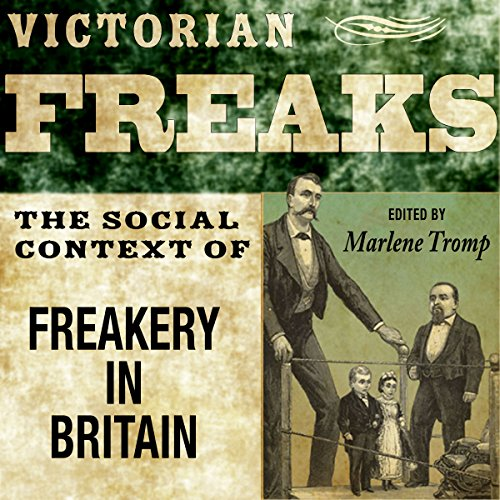Victorian Freaks audiobook cover art