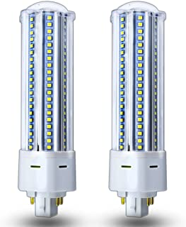 Luxvista GX24Q LED Bulb 22 Watt G24q 4 Pin Base PL Lamp - 42 Watt CFL GX24 Replacement Light Bulbs Warm White PL-C Retrofit Corn Bulb, Remove/Bypass Ballast