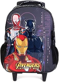 Mochila de Carrinho Avengers First Strike Grande, Xeryus, 7470, Multicor