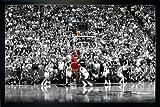 Michael Jordan Poster Last Shot 1998 Colorized (96,5x66 cm)