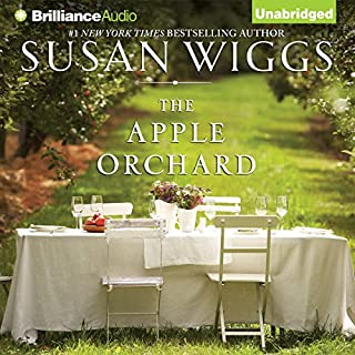 The Apple Orchard audiobook cover art
