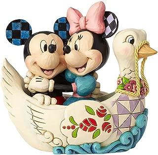 Enesco Disney Traditions by Jim Shore Mickey and Minnie Lovebirds Figurine, 5.38