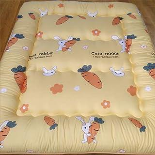 JY&WIN Japonés Espesar El Colchón,colchón De Piso Colchón Espuma Matt Mat Sleeping Pad Plegable Enrollar El Colchón Almohadilla-x 200x220cm(79x87inch)