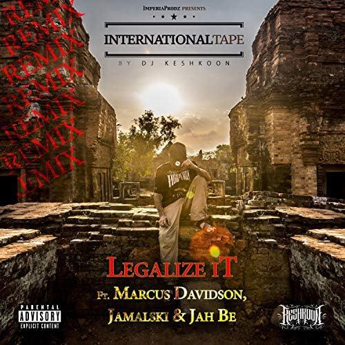 DJ Keshkoon feat. Marcus Davidson, Jamalski & Jah Be