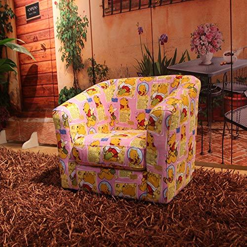 DW&HX Kinder polsterstuhl Kinder Sessel Machine waschbar Cover Minisofa Cartoon Kinder Sofa Wohnzimmer-Sitz Mit Holzrahmen Für Wohnzimmer Schlafzimmer -B 50x44x42cm(20x17x17in)