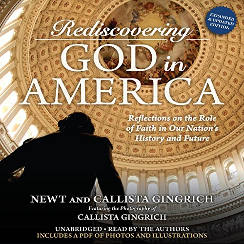 Rediscovering God in America audiobook cover art
