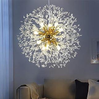MSUN Modern Living Room Dandelion Chandeliers,Gold...