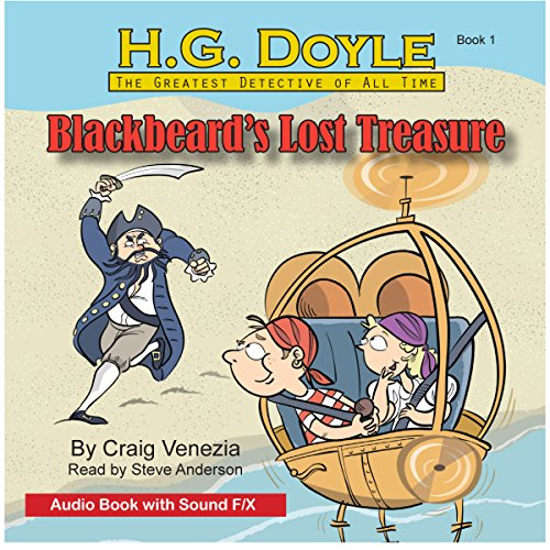 Blackbeard's Lost Treasure audiobook cover art