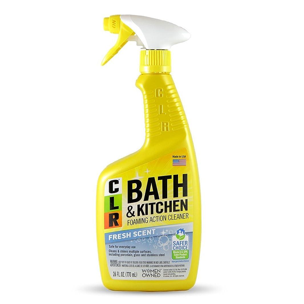 Jelmar PB-BK-2000 CLR Fresh Scent Bath and Kitchen Cleaner, 26 oz Trigger Spray Bottle