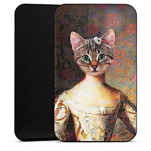DeinDesign Cover kompatibel mit Wiko Barry Hülle Tasche Sleeve Socke Schutzhülle Katze Cat Kitty