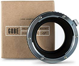 Gobe Lens Mount Adapter: Compatible with Canon EOS (EF/EF-S) Lens and Nikon 1 Camera Body