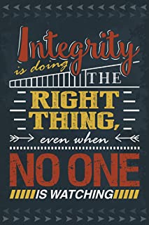 Keen Integrity is The Right Thing Classroom Wall Poster Print|12 X 18 in Poster|KCP32